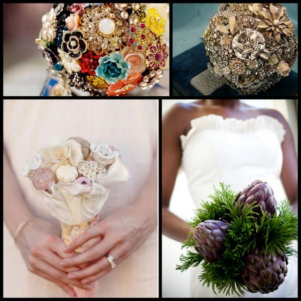 Wedding Flower Bouquet Alternatives - Flowers Healthy